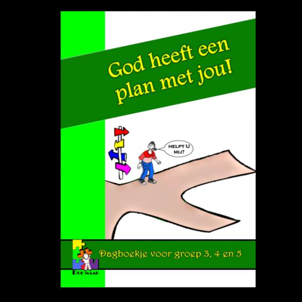 Dagboekje God heeft een plan met jou, stichting Doe maar, middenbouw