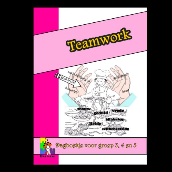 Dagboekje Teamwork, stichting Doe maar, middenbouw