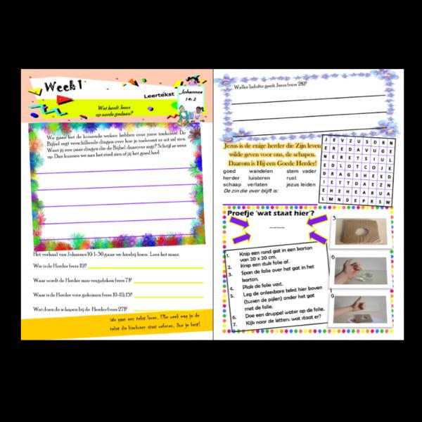 Stichting Doe maar dagboekjes - Jouw Toekomst middenbouw