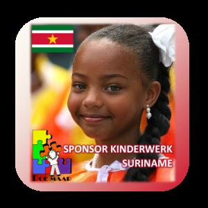 Sponsor Kinderwerk Suriname